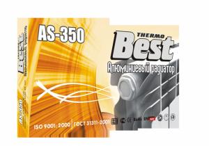 Радиатор отопления алюминиевый Best AS-350/10